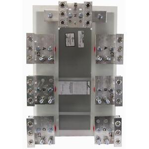 Cooper B-Line 6067-HEEL Current Transformer, Mounting Base, 800A, 50 kAIC, Line/Load Lug