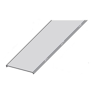 "Cooper B-Line 807A-12-90VO24-6 Solid Flanged Cover, 90° Vertical Outside Bend, Aluminum, 12"" Wide"