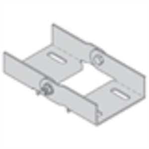 Cooper B-Line 9G-1044 Splice Plate, Wide Channel, Galvanized
