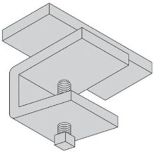 Cooper B-Line 9ZN-1249 Cable Tray Guide, Hot-Dipped Galvanized