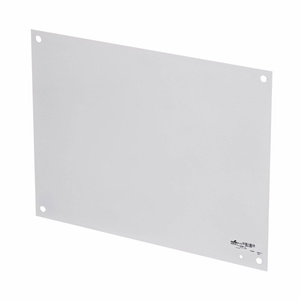 """Cooper B-Line AW2016-1P Panel For Enclosure, 20"""" x 16"""", Steel/White"""