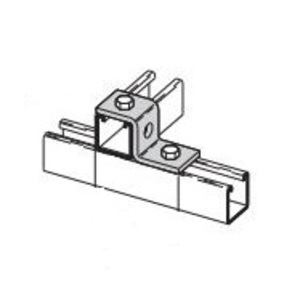 "Cooper B-Line B105HDG Offset ""Z"" Support Connector, 3-Hole, Steel"