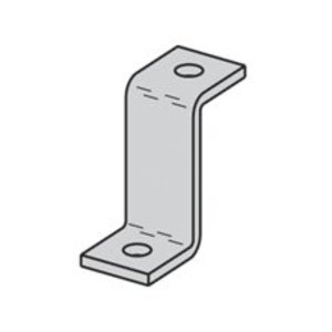 Cooper B-Line B110ZN Three Hole Z-support For B11 Channel, Zinc Plated