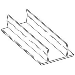 Cooper B-Line B217AL-120 Closure Strip, Aluminum, 10' Long