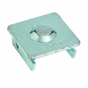 Cooper B-Line B287ZN CHANNEL END CAP, FOR 1