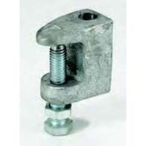 "Cooper B-Line B3033-5/8HDG Wide Jaw Reversible C-Clamp, 5/8"", Hot Dip Galvanized"