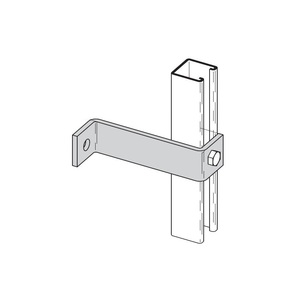 Cooper B-Line B407-8ZN TWO HOLE Z-SUPPORT,