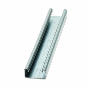 "Cooper B-Line B54-120-SS4 Channel - No Holes, Stainless Steel 304, 1-5/8"" x 13/16"" x 10'"