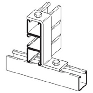 Cooper B-Line B586GRN TWO HOLE Z-SUPPORT,