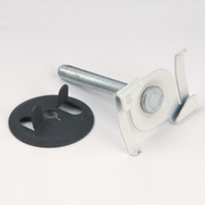 """Cooper B-Line BA-4-16 Acoustical Tee, Twist Fastener, Stud Length: 5/8"""", Steel"""