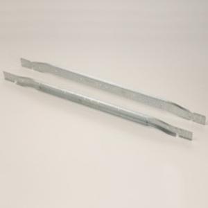"Cooper B-Line BA40 Light Fixture T-Bar Fastener, Length: 24"", Steel"