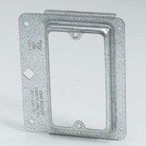 Cooper B-Line BB15 Mounting Bracket, 1-Gang, Cover Plate, Screw-On, Metallic