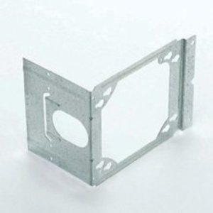 """Cooper B-Line BB4-23 Box Support Bracket, For 4"""" & 4-11/16"""" Square Boxes, Steel"""