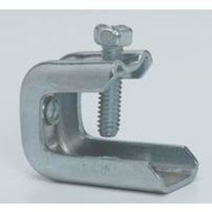"Cooper B-Line BC442-6 Beam Clamp, Rod Size: 3/8-16, Flange: 1/8"" to 5/8"", Steel"