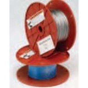 "Cooper B-Line BKW063 Wire Rope, Diameter: 1/16"", Load: 96 LBS, Steel/Galvanized"