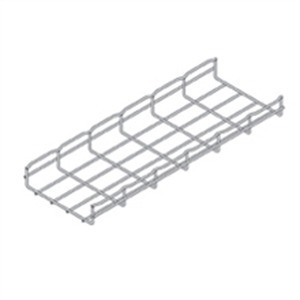 "Cooper B-Line FT2X2X10 Wire Basket Cable Tray, 2"" x 2"" x 10', Steel"