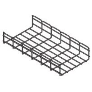 "Cooper B-Line FT2X4X10-ELG Wire Basket Cable Tray, 2"" x 4"" x 10', Steel"