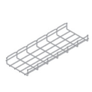 "Cooper B-Line FT2X6X10 Wire Basket Cable Tray, 2"" x 6"" x 10', Steel"