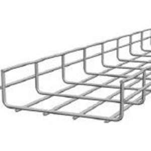 "Cooper B-Line FT4X12X10-ELG Cable Tray, 4"" Deep, 12"" Wide, 10' Long"