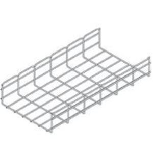 "Cooper B-Line FT4X18X10 Flextray Basket Cable Tray, 4"" Deep, Steel, 18"" Wide, 10' Long"