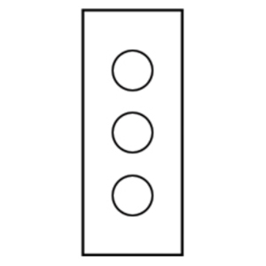 Cooper B-Line PV3SS TYPE 12 STAINLESS VERT