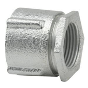 """Cooper Crouse-Hinds 199 Three-Piece Coupling, Threaded, Size: 4"""", Concrete Tight, Malleable Iron"""