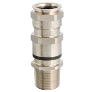 Cooper Crouse-Hinds ADE6M202NPSK2 Cable Gland, Metric: M20, Gland Size: 6, Nickel Plated Brass
