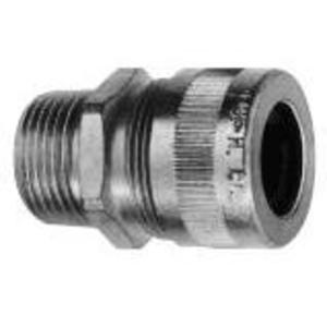 """Cooper Crouse-Hinds CGB499 Cord Connector, Straight, Male, 1-1/4"""", Steel"""
