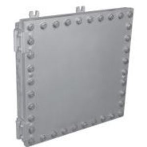"Cooper Crouse-Hinds EJBMP2424 Mounting Plate for EJB Junction Boxes, Size: 24 x24"", Material: Steel"