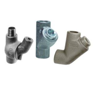 "Cooper Crouse-Hinds EYS316SA Conduit Seal, 1"", Male/Female, Vertical/Horizontal, Aluminum"