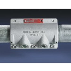 "Cooper Crouse-Hinds EYSR6 Sealing Fitting, Retrofit, Vertical/Horizontal, 2"", Explosionproof"