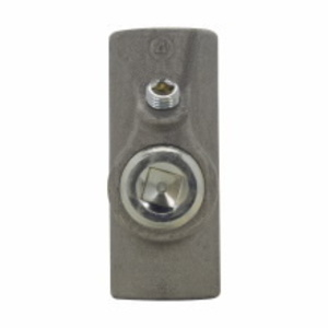 """Cooper Crouse-Hinds EYSX61 Sealing Fitting, Expanded Fill, Female, Vertical/Horizontal, 2"""", Iron"""