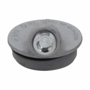 """Cooper Crouse-Hinds GUA041 Conduit Outlet Box Cover, Type: Sealing Hub, Diameter: 2"""""""