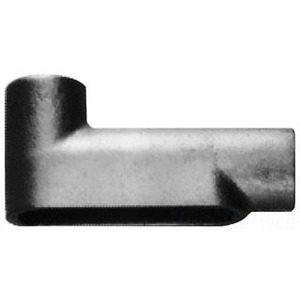 "Cooper Crouse-Hinds LB47 Conduit Body, Type LB, 1-1/4"", Form 7, Iron Alloy"