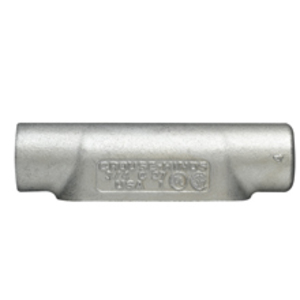 "Cooper Crouse-Hinds LR17 Conduit Body, Type LR, 1/2"", Form 7, Iron Alloy"