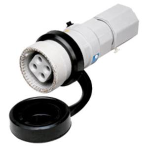"Cooper Crouse-Hinds NPJ6485 Pin & Sleeve Plug, 60A, 600V, 4P3W, 1-1/2"" Hub"