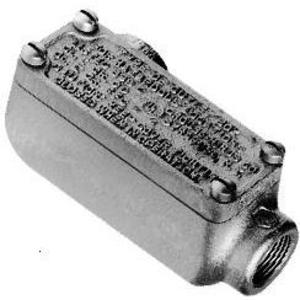 """Cooper Crouse-Hinds OELL2 3/4"""" Conduit Outlet Bodies with Cover"""
