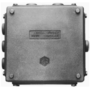 Cooper Crouse-Hinds RSMP2 3/4 1 HUB PLATE 4 1/2 X 4
