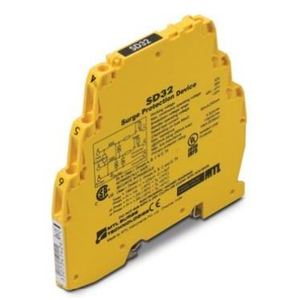 Cooper Crouse-Hinds SDRTD Terminal Block, Surge Protector, 1VDC, 0.75VAC, >10mA, 3 Wire RTD