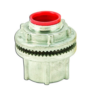 """Cooper Crouse-Hinds ST1 Conduit Hub, 1/2"""", Insulated, Zinc Die Cast"""