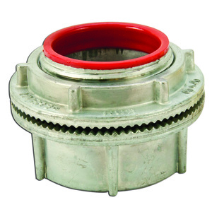"""Cooper Crouse-Hinds ST6 Conduit Hub, 2"""", Insulated, Zinc Die Cast"""