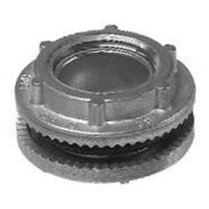 """Cooper Crouse-Hinds STC5 Conduit Hub Capoff, Size: 1-1/2"""", Insulated, Gasketed, Zinc Die Cast"""