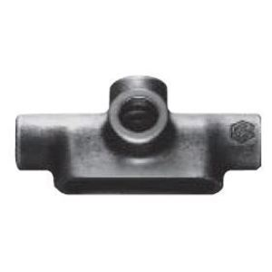 """Cooper Crouse-Hinds TA27 Conduit Body, Type: TA, Size: 3/4"""", Form 7, Material: Iron Alloy"""