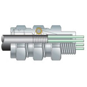"Cooper Crouse-Hinds TMC285 TMCX Connector, 3/4"", Explosionproof, Aluminum"