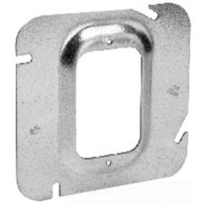 """Cooper Crouse-Hinds TP579 4-11/16"""" Square Cover, 5/8"""" Raised, 1-Device"""