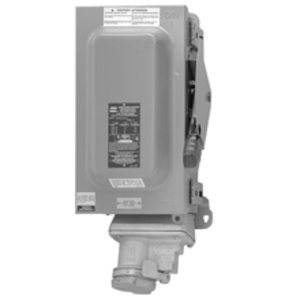 Cooper Crouse-Hinds WSRD6352 Receptacle w/Disconnect Switch, Fused, 60A, 600V, 4P3W