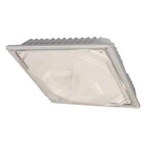 Cree Lighting C-CP-A-SQ-79L-40K-WH LED Canopy, 120-277V, 7900L, 4000K, White