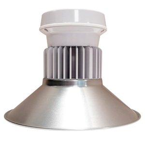 Cree Lighting C-LB-A-RDAC-8L-40K-WH LED Round Low Bay, 120-277V, Prismatic Diffuser, White
