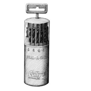 Cully 91811 21 Piece Dial-a-drill 1/16-3/8
