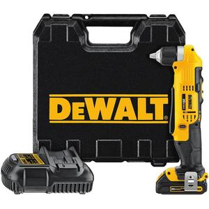 DEWALT DCD740C1 20V Max Cordless Right Angle Drill Driver